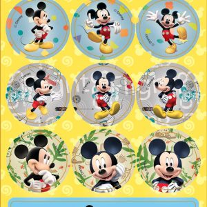 ADESIVOS MICKEY MOUSE E MINNIE