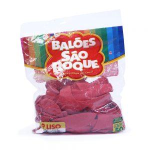 Balão São Roque Liso Vermelho