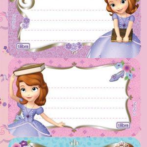 Etiqueta Princesinha Sofia Tilibra
