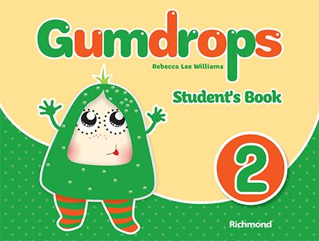 Livro de Inglês Gumdrops 2. Autores Rebecca Lee Willians. Editora Richmond. -0