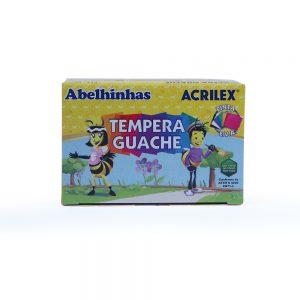 TINTA GUACHE 6 CORES – 15ml – ACRILEX