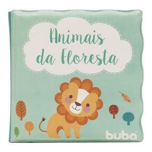 #LIVRO DE BANHO – ANIMAIS DA FLORESTA