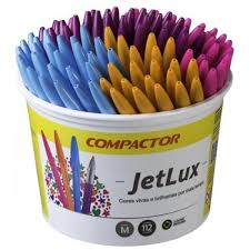 CANETA JET LUX COMPACTOR