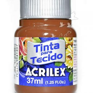 #TINTA PARA TECIDO – MARROM – 37 ml. – ACRILEX