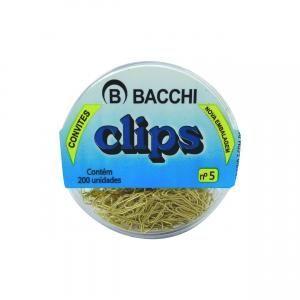 #CLIPS DOURADO BACCHI Nº 05  CX COM 200UN