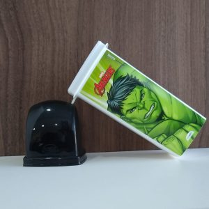 #DENTAL CASE PLÁSTICO HULK