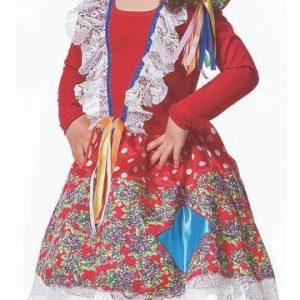 #VESTIDO EVELYN INFANTIL TAM (P) JN3014-P