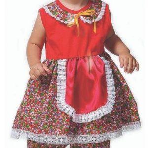#VESTIDO BABY ANA TAM (GG) JN3046-GG