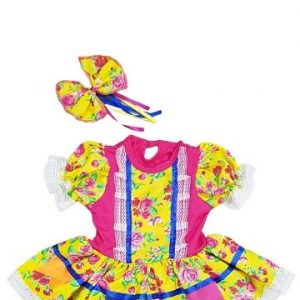 #VESTIDO BABY JUNINO TAM (M) JN5003A-M