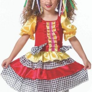 #VESTIDO ANGEL INFANTIL TAM: (M) JN3008-M