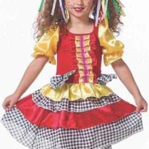 #VESTIDO ANGEL INFANTIL TAM: (P) JN3008-P