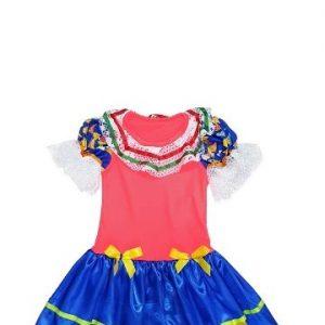 #VESTIDO ISABELA INFANTIL TAM: (M) JN3080-M