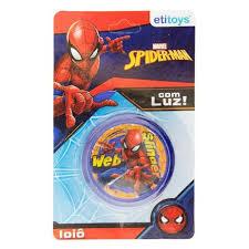 #IOIO COM LUZ SPIDER-MAN