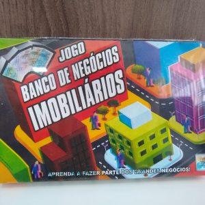 #BRINQUEDO: JOGO BANCO DE NEGÓCIOS IMOBILIÁRIOS