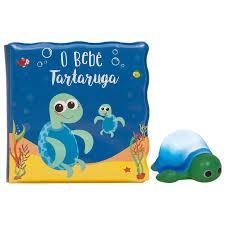 #LIVRO DE BANHO – O BEBE TARTARUGA