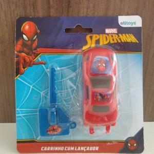 #CARRINHO COM LANÇADOR SPIDERMAN