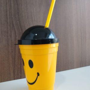#COPO SMILE COM CANUDO