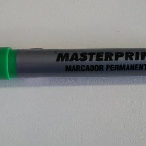 #MARCADOR PERMANENTE – MASTERPRINT – VERDE
