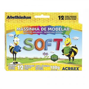 #MASSINHA SOFT CONJ.C/12CORES