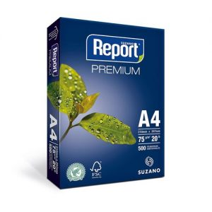 #PAPEL SULFITE REPORT A4 75 210X297MM PREMIUM