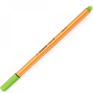 #CANETA CIS STABILO POINT 0.4MM C VERDE ESMERALDA
