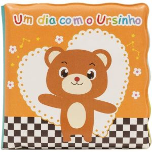 #LIVRO DE BANHO – UM DIA COM O URSINHO