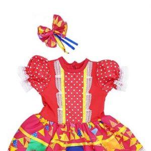 #VESTIDO BABY JUNINO TAM (M) JN5003B-M