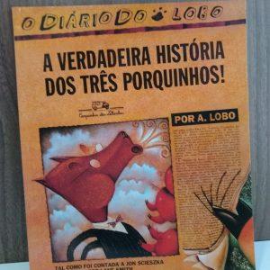 #LIVRO: O DIÁRIO DO LOBO – A VERDADEIRA HISTÓRIA DOS TRÊS PORQUINHOS