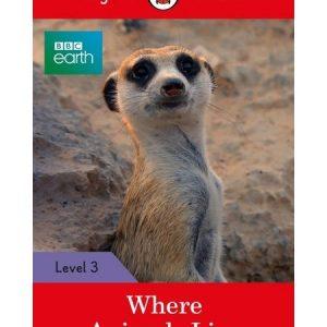 LIVRO DE INGLÊS: WHERE ANIMALS LIVE