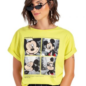 Disney – Blusa em Meia Malha Estampada